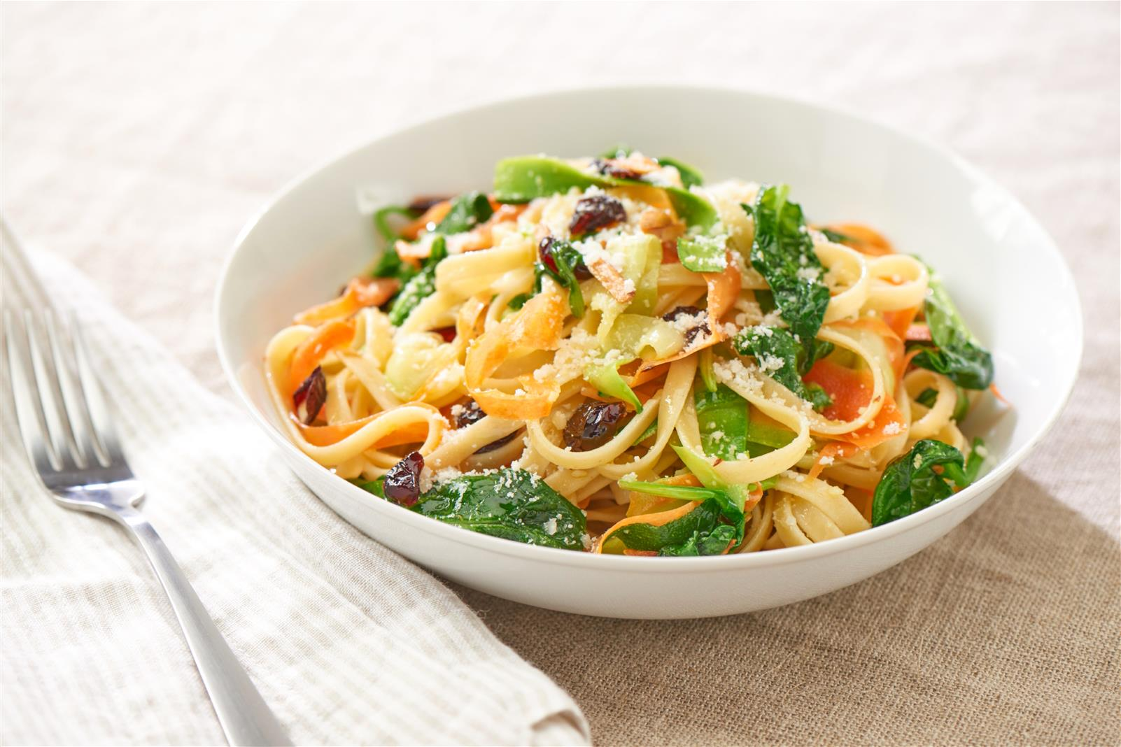 Sweet and Spicy Fettuccine