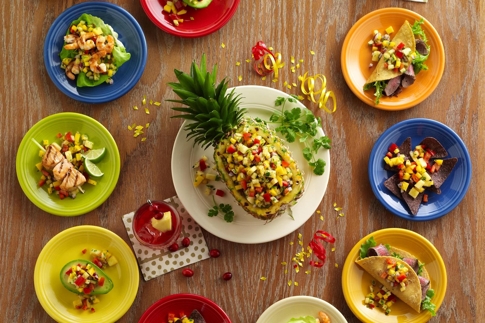 Cranberry Pineapple Mango Salsa