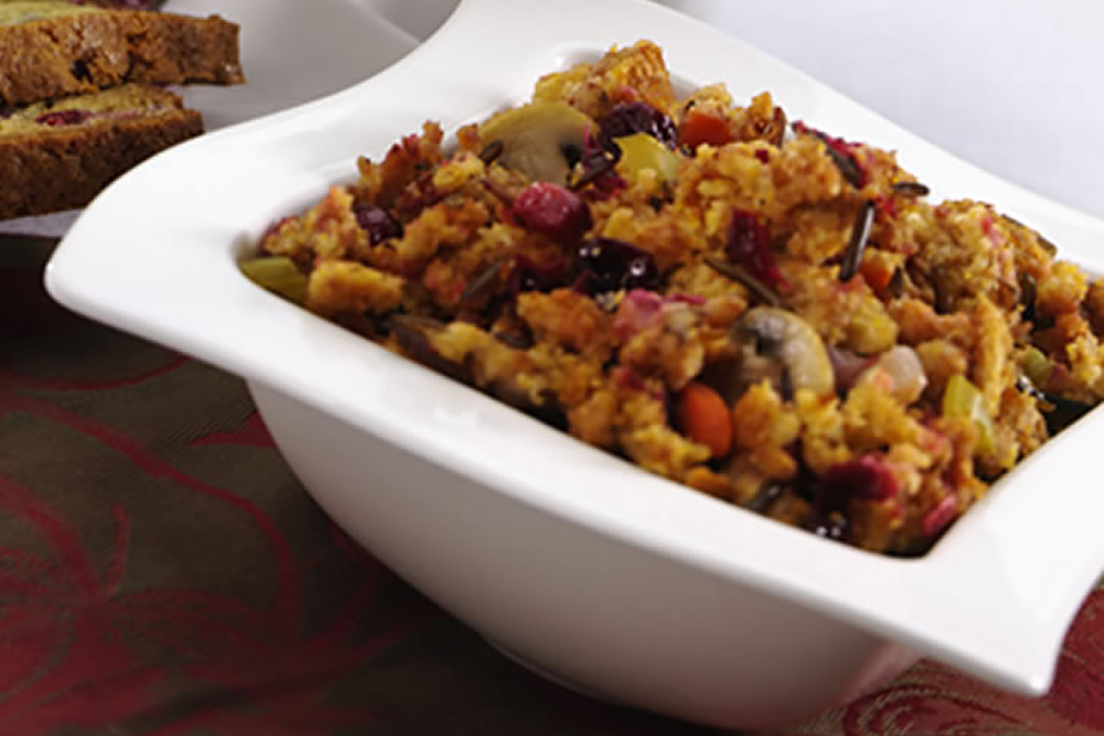 Wild Rice Cranberry Stuffing