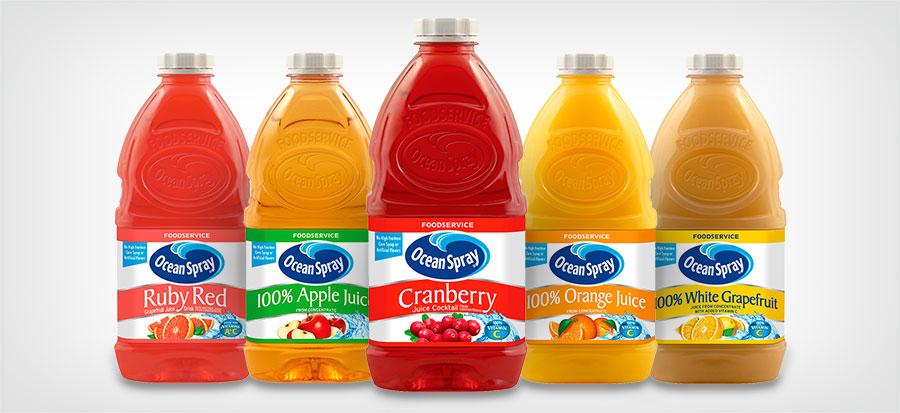 No-Thaw™ Juices & Juice Drinks